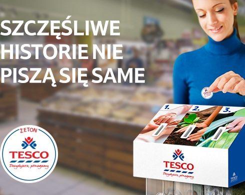 Zapraszamy do głosowania w sklepie TESCO!